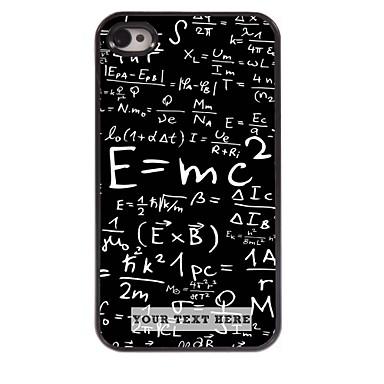 Buy Personalized Phone Case - Formula Design Metal iPhone 4/4S