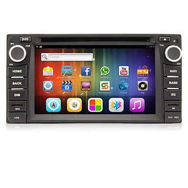 Buy Android 4.2 6.2-inch 2 Din TFT Screen In-Dash Car DVD Player Toyota Bluetooth,Navigation-Ready GPS,iPod,RDS