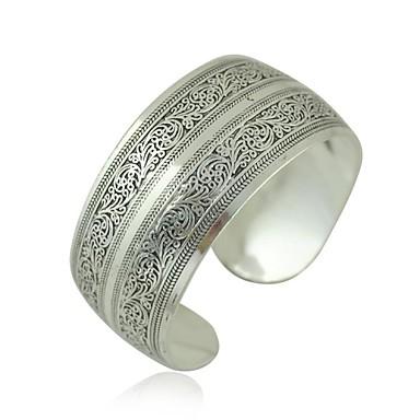 1PCS Fashion Carved Silver Bracelet N0.1