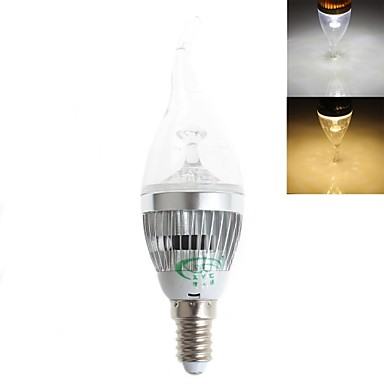 Buy 5W E14 LED Candle Lights CA35 15 SMD 2835 450 lm Warm White / Cool Decorative AC 220-240 V