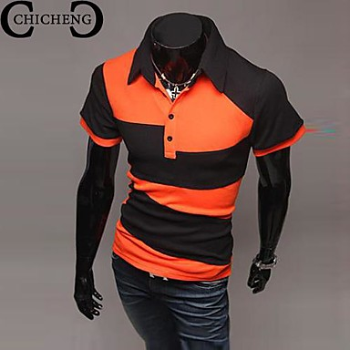CHICHENG® Men's Summer Casual Stylish Slim Fit