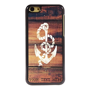 Buy Personalized Phone Case - Anchor Design Metal iPhone 5C