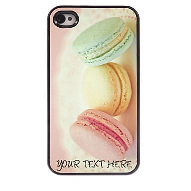 Buy Personalized Phone Case - Bread Design Metal iPhone 4/4S