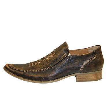 chaussures hommes bureau travail d contract marron cuir mocassins de 2559939 2016. Black Bedroom Furniture Sets. Home Design Ideas