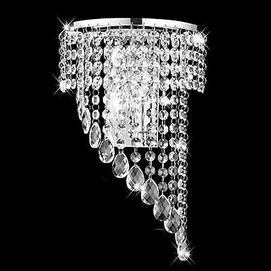Buy Crystal Flush Mount wall Lights,Modern/Contemporary E12/E14 Metal