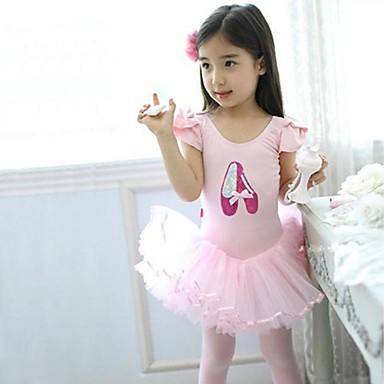 Robes rose coton ballet ballet pourenfant entra nement - Taille moyenne enfant ...