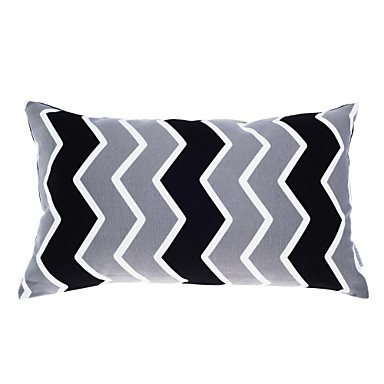 Buy Modern 12x20 inch Rec Striped Pillow Cover/Pillow Insert