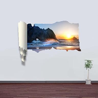 Decalcomanie adesivi murali della parete 3d alba in for Adesivi parete 3d