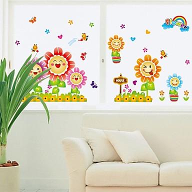 Bot nico caricatura personas pegatinas de pared for Calcomanias para paredes decorativas