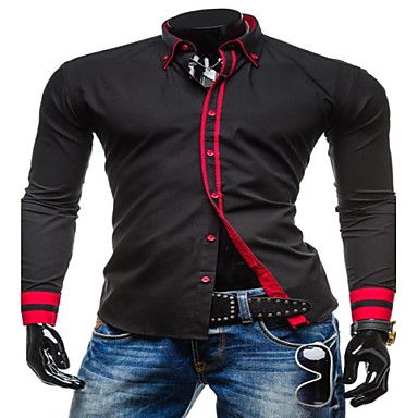 Sujetador de camisa hombre