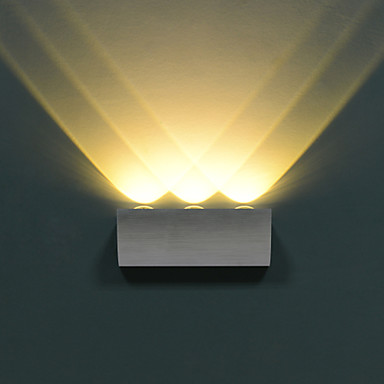 White Box Wall Lights : LED Wall Sconces , Modern/Contemporary LED Integrated Metal 1887482 2016 USD 41.99