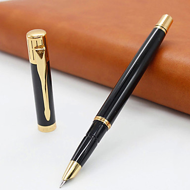 Black business and school fine writing fountain pen Elegant writer calligraphy pens