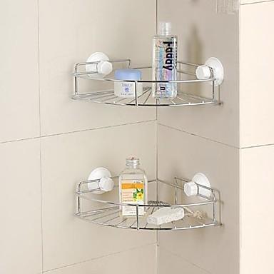 Mensole in vetro cestini doccia gadget da bagno - Cestini da bagno ...