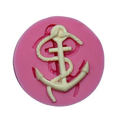 Buy Mini Anchor Silicone Mould Cake Decorating Mold Fondant Fimo Chocolate Candy