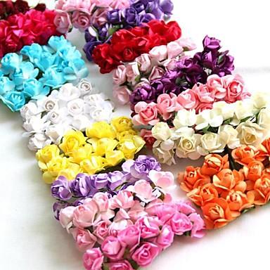 144pcs fleurs de pruniers mini fleurs rose artificielle pour le scrapbooking accessoires mini. Black Bedroom Furniture Sets. Home Design Ideas
