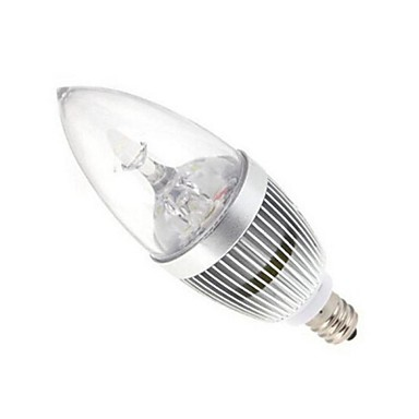 Buy E14 9W High Power LED 72LM 2800-3500/6000-6500K Warm White/Cool White Candle Bulbs AC 85-265V