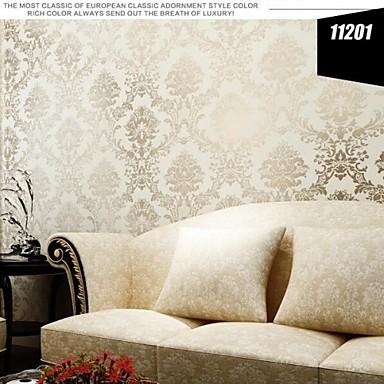 Papel pintado floral contempor neo refleja tinte claro - Pintado de paredes ...