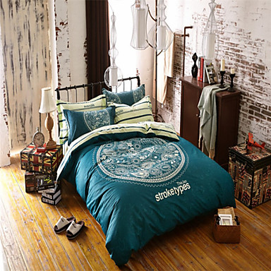 100% Cotton Ametican Style Duvet Covers for Double Bed