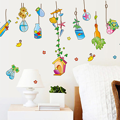 Caricatura paisaje pegatinas de pared calcoman as de for Calcomanias para paredes decorativas
