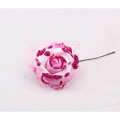 5cm 50pcs eva rosas artificiales brillo espuma floral - Decoracion de jarrones con flores artificiales ...
