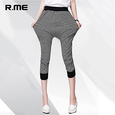 pantalon aux femmes large vintage plage d contract mignon travail grandes tailles coton spandex. Black Bedroom Furniture Sets. Home Design Ideas
