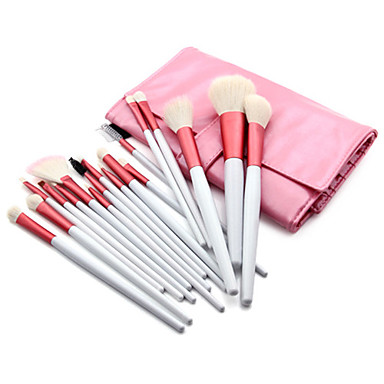 Buy 18 Makeup Brushes Set Goat Hair / Synthetic Nylon Others Face Lip Eye