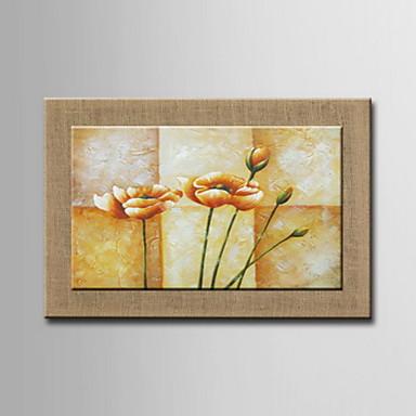Dipinti ad olio un pannello moderni fiori astratti dipinti for Dipinti ad olio moderni