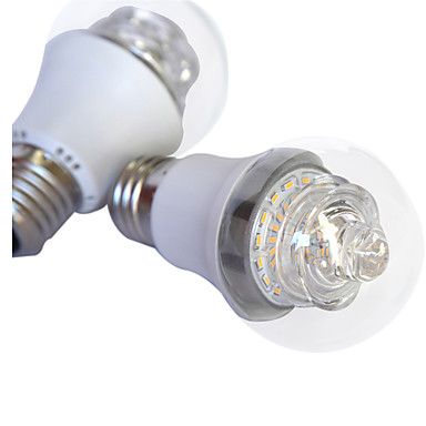 1 pcs 2015 new arrival LED bulb E26/E27 5W 44pcs X SMD 3014 1000lm+/-10% LM 2...