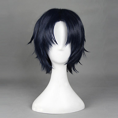 Buy Seraph End Ichinose Guren Ink Blue 32cm Cosplay Wigs