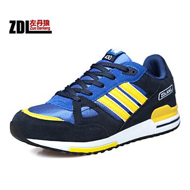 chaussures hommes ext rieure bureau travail d contract sport daim tulle chaussures de sport. Black Bedroom Furniture Sets. Home Design Ideas