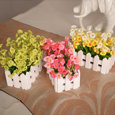 Buy Silk / Plastic Campanula Artificial Flowers