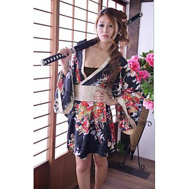 Sexy Japanese Ninja Kimono Halloween Female Uniforms