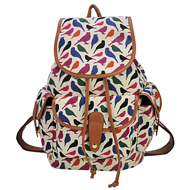 The New 2015 han EditionAnimal Printed Travel Backpack Backpack QQ1702