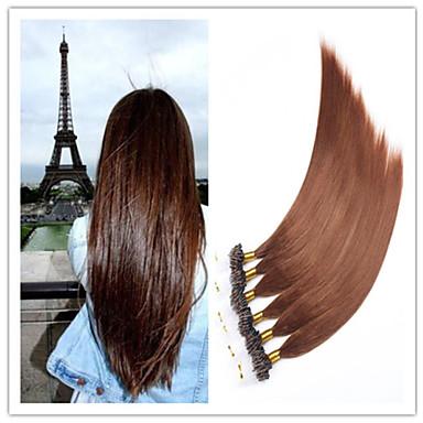 Buy Virgin Keratin Capsule Fusion Hair Extension Micro Ring Hair/Loop 1G/S 100G/PC 1PC/Lot Stock
