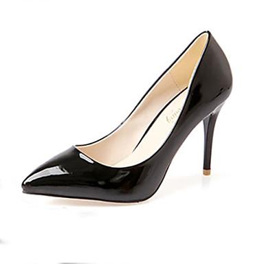 Zapatos de mujer tac n stiletto tacones puntiagudos for Zapatos de trabajo blancos