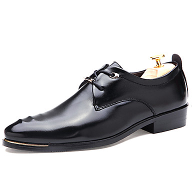 s shoes fashion casual business soft pu leather shoes