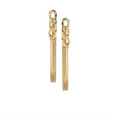 """New Arrival Hot Selling High Quality Chain Tassel Earrings"""
