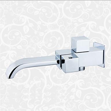 contemporain montage mural cascade with valve en c ramique mitigeur un trou for chrom robinet. Black Bedroom Furniture Sets. Home Design Ideas