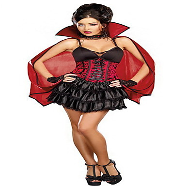 vampire diary red frauen halloween kost m 844832 2016. Black Bedroom Furniture Sets. Home Design Ideas