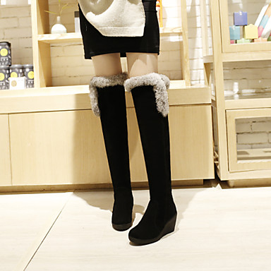 s shoes cotton wedge heel wedges fashion boots