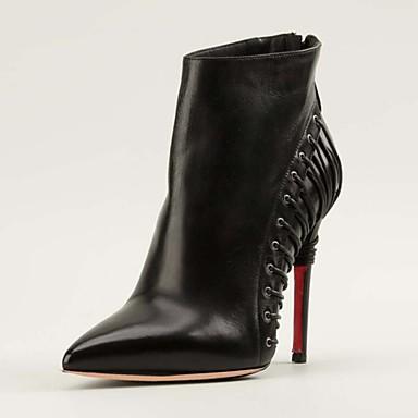 chaussures femme mariage habill soir e ev nement noir talon aiguille bottine. Black Bedroom Furniture Sets. Home Design Ideas