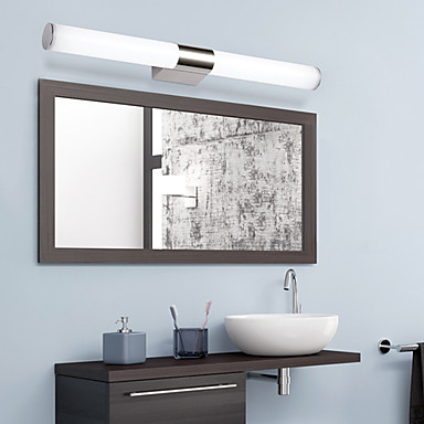 Contemporary Led Vanity Lights : LED / Mini Style / Bulb Included Bathroom Lighting,Modern/Contemporary LED Integrated Metal ...
