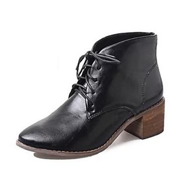 Mujer tac n robusto botas a la modaoficina y trabajo for Zapatos de trabajo blancos
