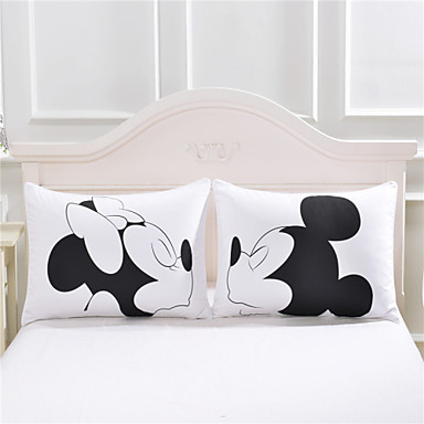 mickey mouse Love Decorative Pillow Case Cute Design ...