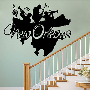 4081 New Orleans Band Character Bedroom Art Decorative