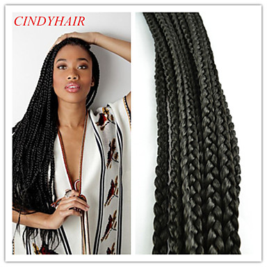 Crochet Box Braids With Kanekalon Hair : 2Pack/Lot Crochet Box Braid 100% Kanekalon Fiber Synthetic Braid ...