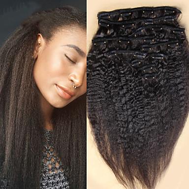 br silienne de cheveux cr pus vierge pince droite dans les extensions de cheveux humains italien. Black Bedroom Furniture Sets. Home Design Ideas