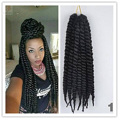 Buy 4Pcs/Pack Crochet Havana Twist Braid 2X Mambo Hair Kanekalon Fiber