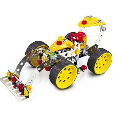 Buy Jigsaw Puzzles 3D / Metal Building Blocks DIY Toys Car 146 Red Yellow Silver Model & Toy