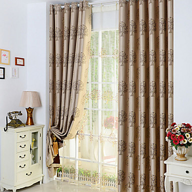 Long Curtains For Living Room Bedroom Blackout Curtains Window Drapery Burgu